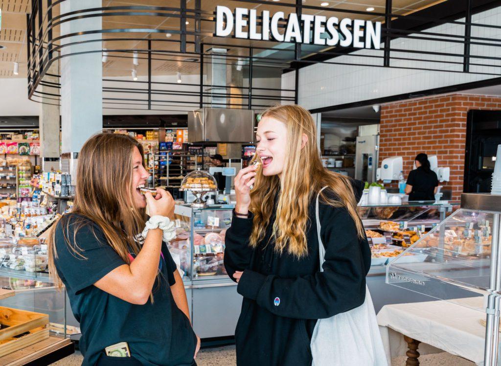 Claremont Foodies Market indoor photos